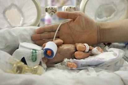 Nace en China una niña que cabe en la palma de la mano