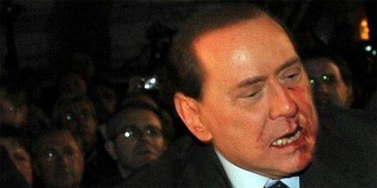 """Di Pietro: """"Hay más odio contra Berlusconi, pero es culpa suya"""""""
