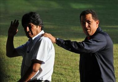 Chávez anuncia que irá con Evo Morales a la cumbre de Copenhague