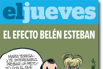 El Jueves se burla de De la Vega a cuenta de Belén Esteban