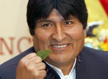 """La """"Coca Colla"""", el nuevo proyecto de Evo Morales"""