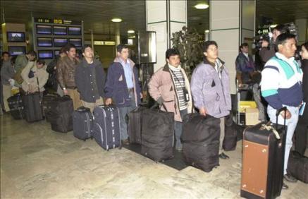 Las deportaciones de inmigrantes aumentaron en 2009
