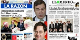 La prensa de papel y el onanismo mediático
