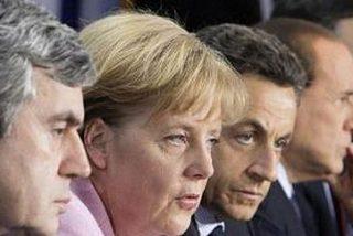 Sarkozy se suma a Brown y pide gravar las primas de los banqueros