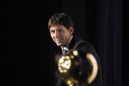 """Messi, tras recibir el Balón de Oro: """"Se lo dedico a mis compañeros"""""""