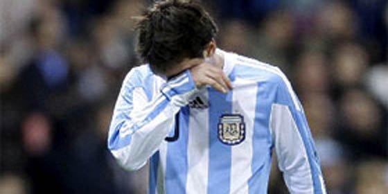 """""""A la selección Argentina le conviene olvidarse de Messi, que no participe"""""""