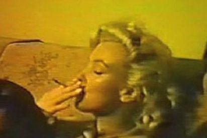 Una cinta inédita muestra a Marilyn Monroe fumando porros
