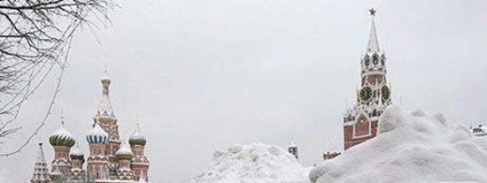 Moscú quiere sembrar nubes para evitar nevadas en la ciudad