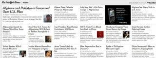 The New York Times lanza una forma de leer el periódico online 'a la carta'