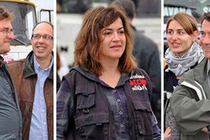 Los tres secuestrados de Al Qaeda