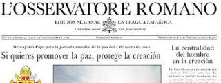 'La Razón' distribuirá a partir de mañana el diario de El Vaticano