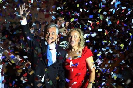 Piñera se impone en las elecciones chilenas con un 44% de los votos