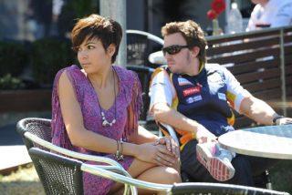 Fernando Alonso y Raquel del Rosario dejan su relación en la cuneta