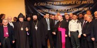 Recepción a los Líderes Religiosos Cristianos en el Ministerio de Turismo de Israel