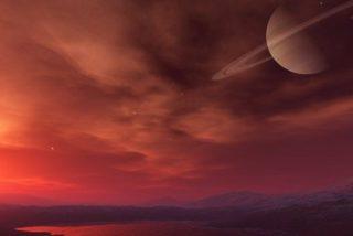 La NASA planea enviar un barco a Titán, una de las lunas de Saturno