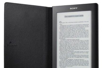Sony incorpora un lector de noticias a su libro electrónico