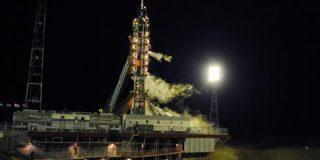 La nave rusa Soyuz parte rumbo a la Estación Espacial Internacional