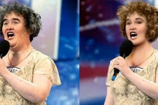 De madrasta a princesa, o cómo convertir a Susan Boyle en Cenicienta con Photoshop