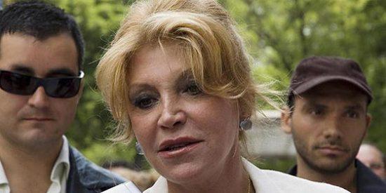 Tita Cervera hace mutis por el foro y Paulina Rubio se vuelve solidaria