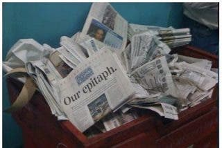 Más de 142 periódicos cierran con la crisis en 2009