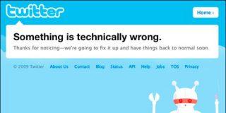 """Twitter se cae durante 3 horas debido a """"un elevado número de errores"""""""