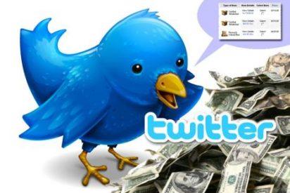 Twitter gana $25 millones en 2009 gracias a los acuerdos con Google y Bing