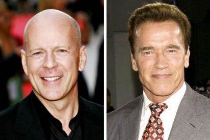 Schwarzenegger y Bruce Willis podrían ser consuegros