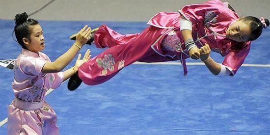 Ketsuda Vongphakdy, la Bruce Lee voladora del wushu