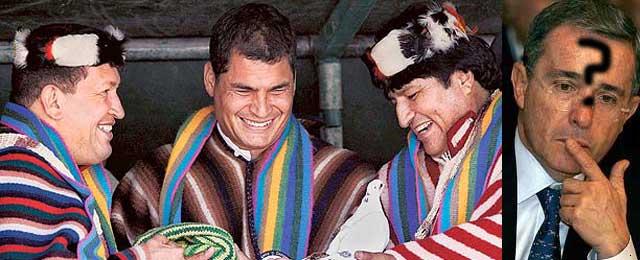 Un grupo colombiano inspirado en Hugo Chávez planea una candidatura presidencial en 2010