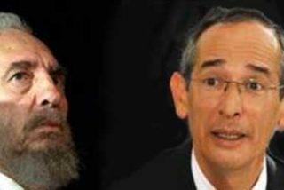 Empresarios guatemaltecos rechazan la condecoración que dará Colom a Fidel Castro