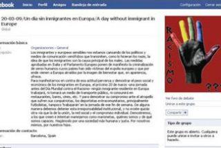 La convocatoria al paro europeo de inmigrantes ya supera los 300 miembros en Facebook