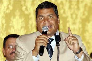 El presidente Correa viaja a Venezuela para asistir a cumbre del ALBA