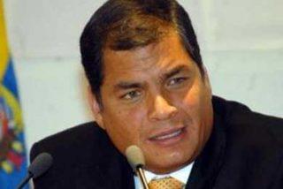 El presidente Correa dice que actuará por vía legal contra los medios que 'manipulen'