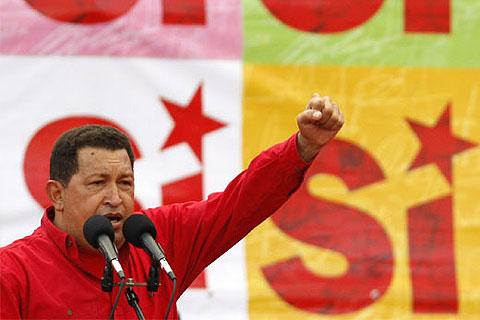 El verdadero rostro del Gorila Chávez