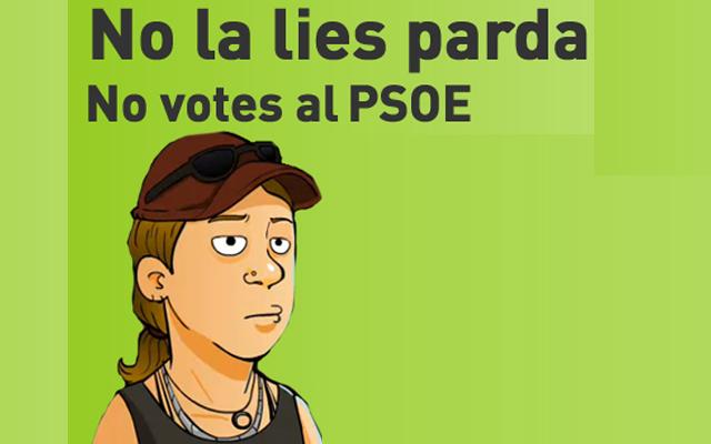 """El PP vasco dice que """"se va a liar parda"""" si los jóvenes votan a Patxi López"""
