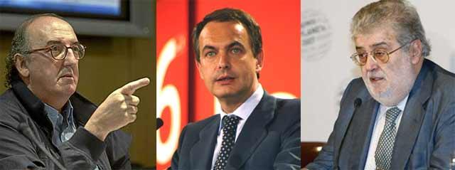 Roures, Zapatero y el 'plan Lara': se abre la veda para la fusión de las televisiones