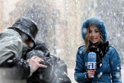 Atascos y nieve en media España