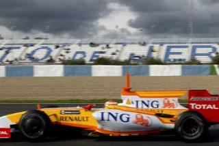 Alonso marca el ritmo en los entrenamientos de Jerez
