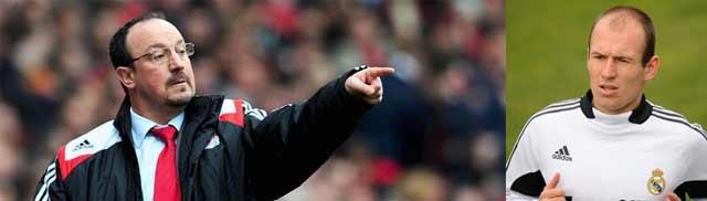 Benítez quiere a Robben en el Liverpool