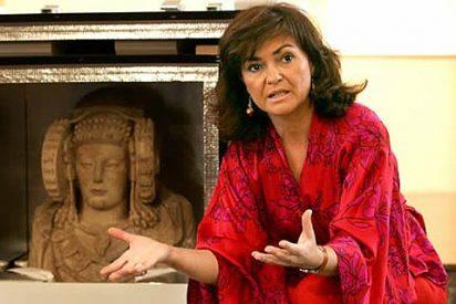 """Carmen Calvo: """"La clave de la victoria de Obama fue su perfil femenino"""""""