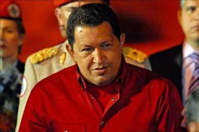 Hugo Chávez tomará en una semana el control del banco filial del Santander en Venezuela