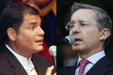 El presidente Correa insiste en no reanudar la relación diplomática con Colombia