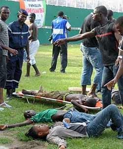 Una avalancha provoca una tragedia en el Costa de Marfil-Malawi