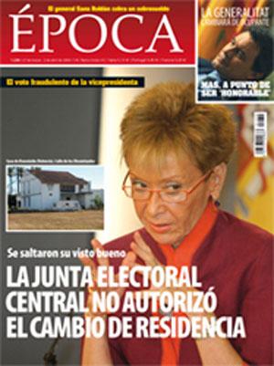 La Junta Electoral Central no autorizó el cambio de residencia de De la Vega