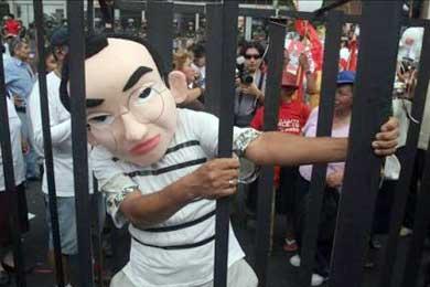 Tres mil personas piden en Lima un castigo ejemplar para Fujimori