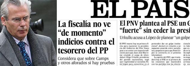 ¿Son «insidiosas» e «injustificadas» las acusaciones de Garzón a Camps y otros dirigentes del PP?