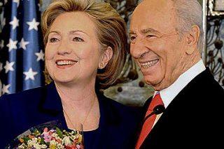 """Hillary Clinton en Israel: """"Reitero el deseo de dos estados para dos pueblos'"""""""