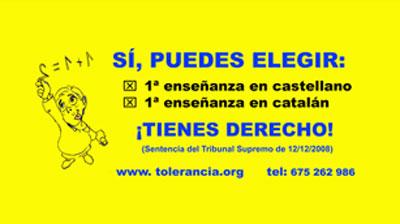 Transportes Metropolitanos de Barcelona veta una campaña en favor de la libertad lingüística