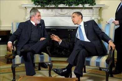 """Lula da Silva pide a Barack Obama una """"nueva relación"""" entre EE UU y América Latina"""