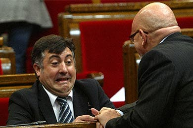 Zapatero se reunió en secreto con el nacionalista Puigcercós pero no logró camelarse al de ERC